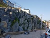 고성군 아야진해수욕장 폭포시공 산벽시공
