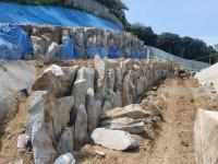 성남 수정구청옆 포레스티아아파트 산벽시공