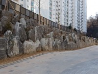 서울 홍제동 현대아이파크 산벽