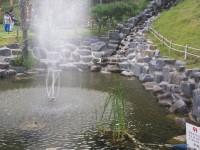 15.온양석으로 연못시공